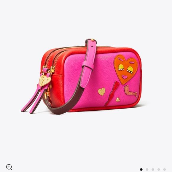 Full set Tory Burch Perry mini bag